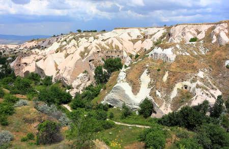Uchisar, Valley of the dovecotes. Cappadocia, Central Anatolia, Turkey.