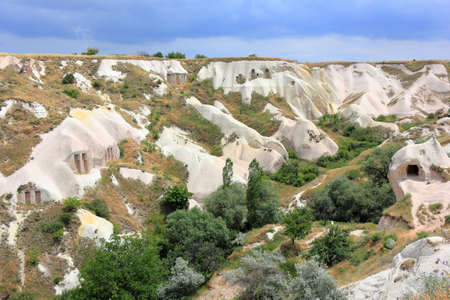 Uchisar, Valley of the dovecotes. Cappadocia, Central Anatolia, Turkey.