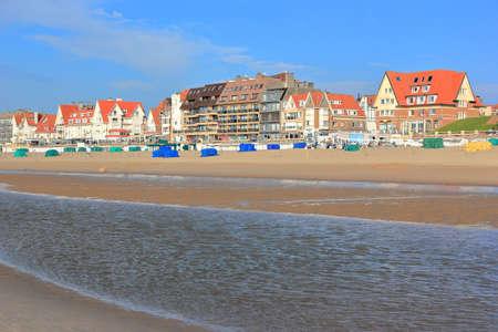 De Haan. Nordsee, Belgien, Europa.
