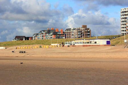 Egmond aan Zee. North Sea, the Netherlands. Stock Photo