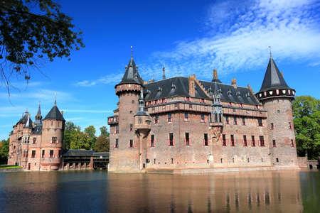 Castello di De Haar a Utrecht, Paesi Bassi. Editoriali