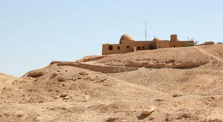 Howard Carter's House near Luxor, Egypt.