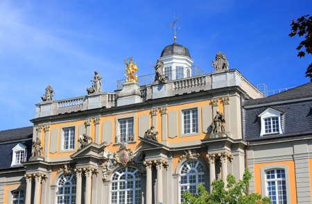 University of Bonn: Koblenz gate or Koblenzer Tor in the center of Bonn city in Germany, Europe.