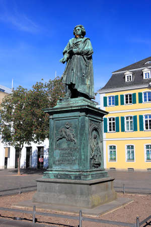 Monument of Ludwig van Beethoven. Bonn, Germany.