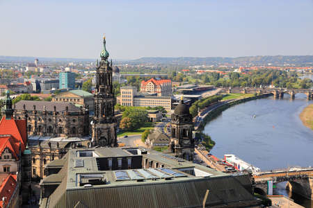 The ancient city of Dresden. Saxony, Germany, Europe.