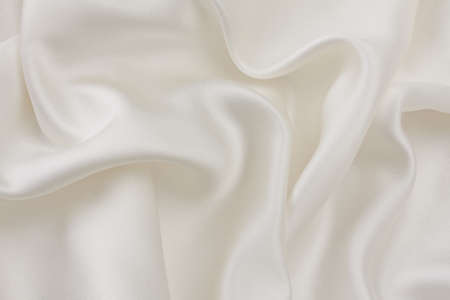 folds: Abstract silk cream-colored texture