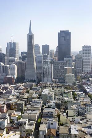 Panorama of San Francisco, California, USA