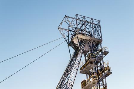 Mine Shaft, Mine Tower, Shaft Winch