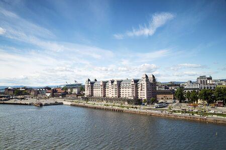 scandinavian peninsula: Coastline of Oslo