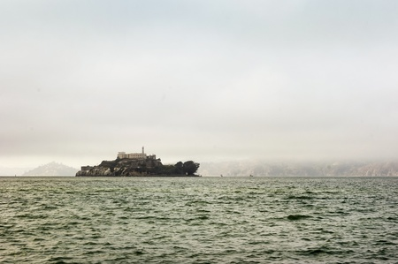 Alcatraz Island with Famous Prison photo
