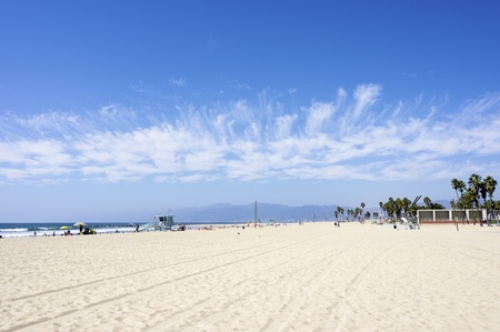 Beautiful Sunny Day at Venice Beach, Santa Monica photo