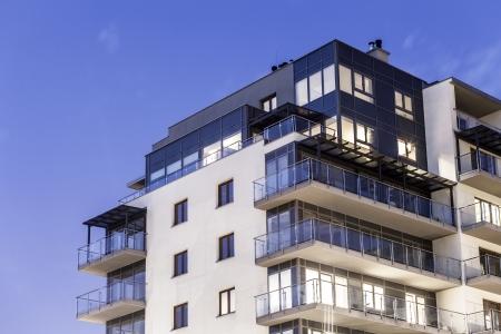 bloques: Apartamento de lujo moderna, la construcci�n
