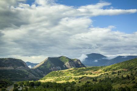 Scenic approaching Salt Lake City, Utah, USA