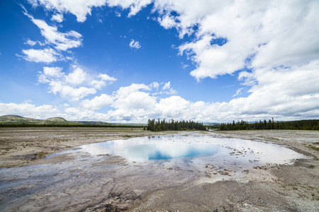 prismatic: Gran primavera prismatico in Yellowstone, WY