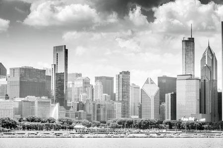 Beautiful skyline of Chicago, Illinois, USA Stok Fotoğraf - 31555011