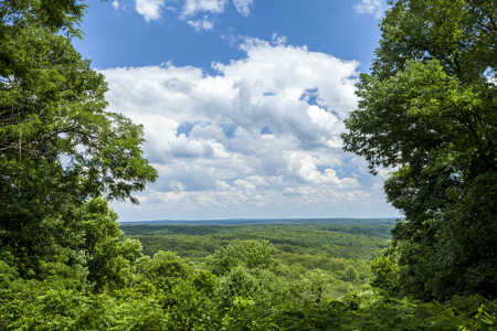 Brown County State Park Panorama, Indiana, USA