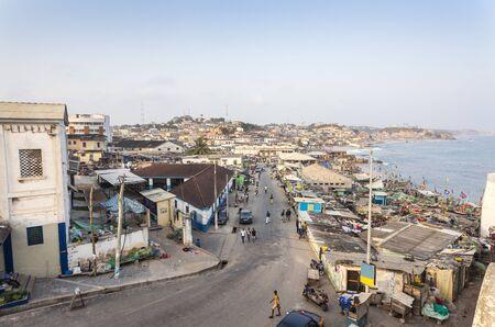 provisional: Cape Coast Cityscape, Ghana, West Africa