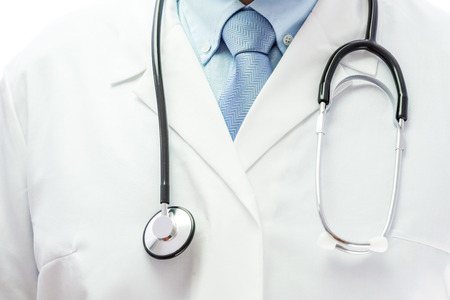 Close up of a doctor with stethoscope Stok Fotoğraf - 37053400