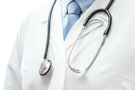 Close up of a doctor with stethoscope Stok Fotoğraf - 37053401