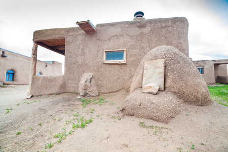pueblo: Consisting of dwellings and ceremonial buildings %u2013 represents the culture of the Pueblo Indians of Arizona and New Mexico. Editorial