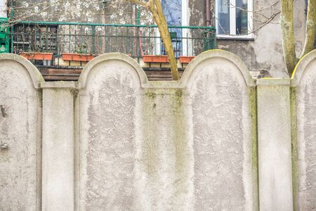 ghetto: One of two remnants of jewish ghetto wall that helps to remember about sad history.