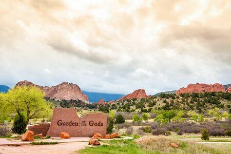 god: Garden of the Gods, Colorado Springs, CO, USA