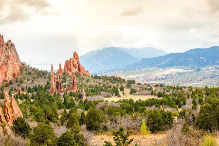 � spring: Jard�n de los Dioses, Colorado Springs, CO, EE.UU.