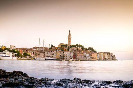 historic buildings: Historic buildings of beautiful Rovinj, Croatia, Europe