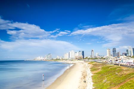 yaffo: Tel Aviv Panorama taken from the south, Israel