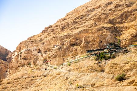 autonomy: Mount of Temptation next to Jericho - place where Jesus was tempted, Palestinian Autonomy