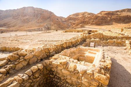 isaiah: Qumran, where the dead sea scrolls were found, Israel