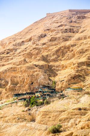 autonomia: Monte de las Tentaciones junto a Jericho - lugar donde Jes�s fue tentado, autonom�a palestina