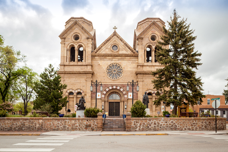 francis: Cathedral Basilica of St. Francis of Assisi, Cathedral Place, Santa Fe, Nowy Meksyk