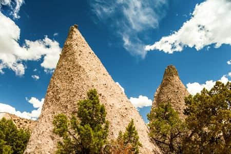 Kasha Katuwe National Monument in New Mexico, USA