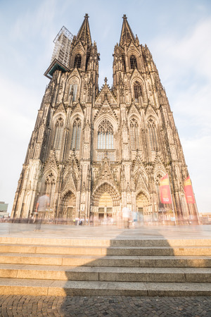 dom: Gothic cathedral in Koln, Germany, Europe .