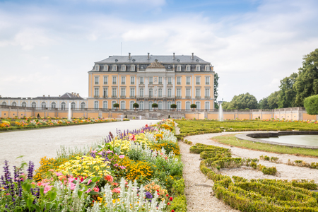 Augustusburg Palace in Bruhl represents one of the first examples of Rococo creations in Germany.