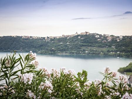 lazio: Castel Gandolfo and Albano Lake, Lazio, Italy