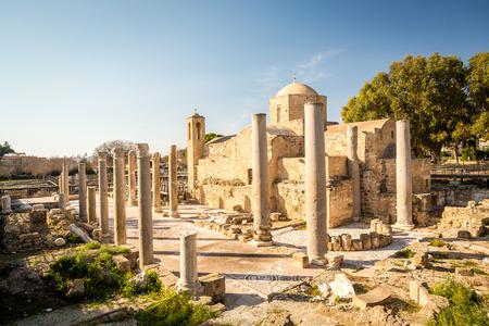 Ayia Kyriaki Chrysopolitissa church in Paphos, Republic of Cyprus