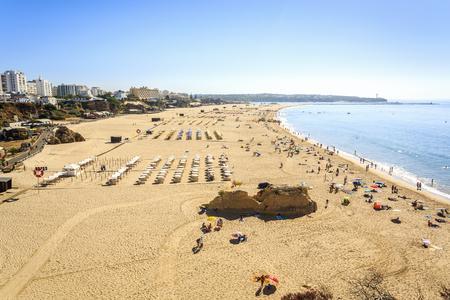 rocha: Praia da Rocha in Portimao, Algarve, Portugal