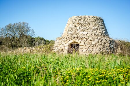 Old trulli in Puglia, south of Italy, Europe