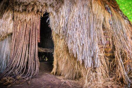 Traditional tribal Kenyan rural house, Bomas of Kenya, Nairobi