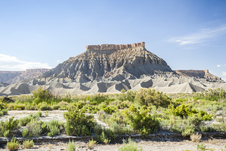 Amazing rock formation in Utah, United States of America 免版税图像