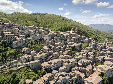 Charming, medieval town of Artena, close to Rome, Lazio, Italy Reklamní fotografie