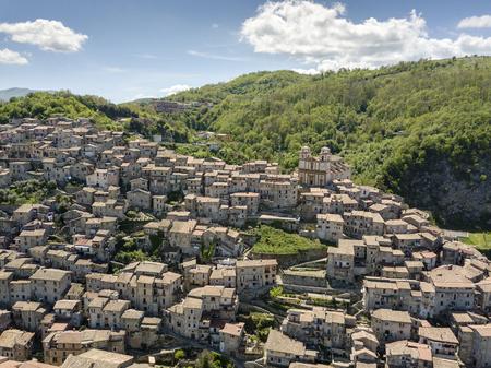 Charming, medieval town of Artena, close to Rome, Lazio, Italy Stok Fotoğraf