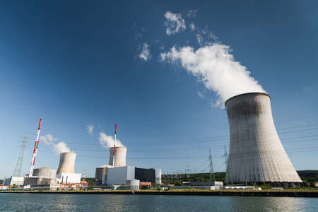 Tihange Nuclear Power Station Stock Photo - 93999471