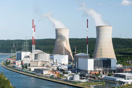 Tihange Nuclear Power Station Stock Photo - 93999455