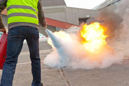 fire extinguisher exercise