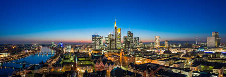 Frankfurt (Main) Skyline Architecture