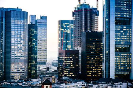 Frankfurt (Main) Skyline Architecture