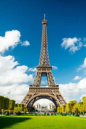 Paris Eiffel Tower Zdjęcie Seryjne